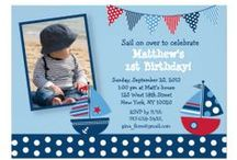 Sailboat Nautical Baby Shower/Birthday Party / Sailboat Nautical Baby Shower/Birthday Party