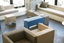 Modular Seating / Collaborative lounge concepts that support today's workstyles - mix, match and rearrange.