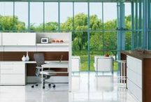 Panel-Based Workstations  / Offering a little privacy or a lot, with strong, stable design freedom.