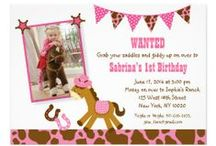 Pink Cowgirl Party/Baby Shower