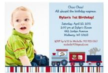 All Aboard Animal Train Baby Shower/Birthday Party