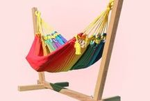 Baby Hammocks / Collection of quality Baby Hammocks and baby hammock stands.
