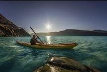 Kayaking in Greenland / Discover more about kayaking in Greenland http://greenland.com/kayaking