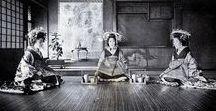 "Oiran, Tayuu, Shinzou, Kamuro, Yujou & Yuukaku / Everything from the ancient ""yuukaku - red light districts"" of Japan."