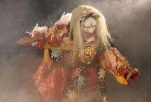 Kagura Dance / Kagura is a Shinto theatrical dance.