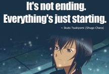 Quotes & Poems / Quotes & Poems mainly from anime or mangas.
