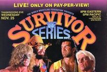 Survivor Series / Every SS ppv poster