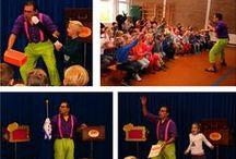 Fun with Kids! / Magische kindershows voor scholen, bedrijven, evenementen en verjaardagsfeestjes! - www.CharlyCrama.nl -