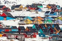 North Greenland / North Greenland is the land of the midnight sun and dog sledding. A cornucopia of arctic experiences with giant icebergs and the Ilulissat Icefjord, honoured with a place on the esteemed list of UNESCO World Heritage Sites.