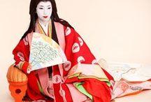 Jyuunihitoe / Junihitoe / Jyuunihitoe / Junihitoe is a twelve layered robe worn by court-ladies in Japan
