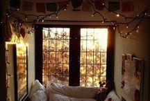 Домашний уют / Home Comfort / Идеи интерьера, которые создают тепло и комфорт в доме. Или просто крутые дома:)