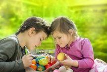 Húsvét gyerekekkel / Szuper, könnyen megvalósítható ötletek, melyeket a gyerekek is imádni fognak!
