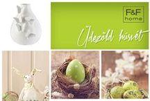 Húsvéti dekoráció / Díszítsd otthonodat egyedi, ötletes és pofonegyszerű dekorációkkal!