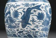 Cineseria bianca e blu / Ceramiche bianche e blu