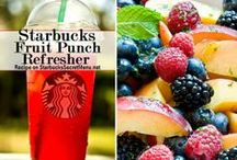 Starbucks Secret Menu Drinks / Customize your Starbucks latte, refresher, macchiato and more with these brilliant Starbucks Secret Menu recipes! / by Starbucks Secret Menu