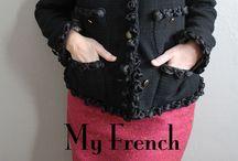 Jennifer Serr & Bonjour Teaspoon / The Sewing Room Blog & Bonjour Teaspoon Sewing Patterns for Tweens