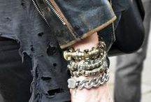 ROCK CHIC / Leather, lace, music, rock!