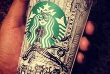 Starbucks Art / Showing the creativity of Starbucks drinkers and fans. Some unbelievable works of art on Starbucks cups, sketch books and digital media. / by Starbucks Secret Menu
