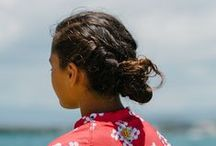 BEACH Hairstyles / Hairstyles for any occasion.