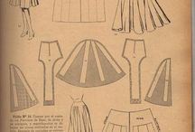 The Sewing Room - Pattern Making / Pattern Making Tutorials and Visuals