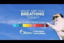 Healthy Living - Outdoor environments  |  Vie saine - Milieux extérieurs / Hot weather, smog, cold weather in Ottawa, air quality health index and sun safety.  |  La chaleur, le smog, Ottawa, par grand froid, la Cote air santé et la sécurité au soleil