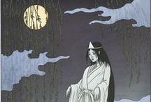 Japanese Spooks / Welcome to Extraordinarium's gallery of Japanese spooks - or yokai - to go with our articles on the Asian supernatural. See the articles, along with many others, in our journal: http://journal.extra-ordinarium.com/index.htm