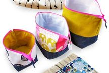 The Sewing Room - Fabric Sample Crafting / Pretty ways to use upholstery and decorator samples