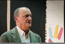 Construyendo voces - Conferencia Inaugural - 2014 / Gustavo Martín Garzo abrió el III Ciclo Internacional de Narración Oral para Adultos Cuentacuarenta con una conferencia en el Colegio de Arquitectos de Ávila