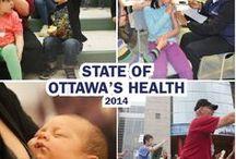 State of Ottawa's Health 2014 | État de santé de la population d'Ottawa, 2014 / The report provides an overview of key health conditions and indicators that have a significant impact on the health of Ottawa's population | Le rapport État de santé de la population d'Ottawa en 2014 présente un survol des troubles et des indicateurs ayant des répercussions considérables sur la santé de la population d'Ottawa.