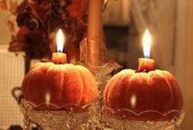 herfst en pompoenen / by Therese de Kegel