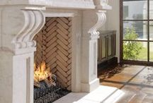 Architecture fireplace