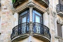 Architekture balcony