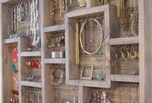 BEjeweled Organization / #Jewelry organization  that keeps everything within reach and looks GREAT!