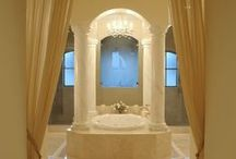 Soothing Baths / A Soothing #bath is all that is needed to relax and to find a little bit of paradise on earth.