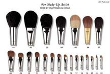 The Makeup Brush For Artists / A #Makeupbrush is what a Makeup ARTIST uses to create unique designs. Let's look at some.