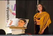 """Martha Escudero - Ciclo 2015 / Martha Escudero con """"¡Viva la vida! Homenaje a Frida Kahlo"""" en el Colegio de Arquitectos de Ávila - sábado 21 de marzo - Cuentacuarenta 2015"""