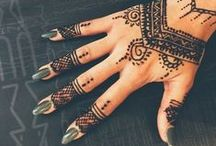 Enchanting Mehndi Henna Designs / Mehndi Henna - A natural form of beautiful adornment.  No longer is it just for brides, but for all women who simply want to be beautiful as they reflect the inspirations of love and nature.