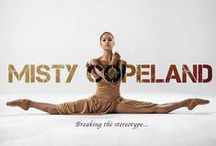 Beauty Is Strength / Misty Copeland. Simply Beautiful. Inspiration. For the love of  #Ballet and the real sportmanship that it requires to be the best.