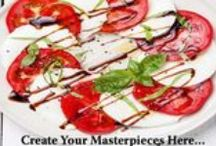 Ashlynn's Fruit & Wine Balsamic Glazes / Want to impress your guests with an impressive spread? Don't think you have the time to create a masterpiece in 20 minutes?  The Answer is at your fingertips! Look no further than Ashlynn's Gourmet! Ashlynn's Fruit & Wine Balsamic Glazes are your match!