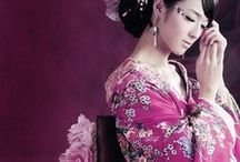 KIMONO / The many styles of the #kimono. Love #JAPAN. The #Fashion and #Beauty of the #women of Japan.