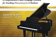 Piano Pedagogy Books