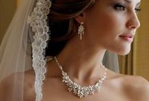 Bridal BLING / The #Beauty of a #Bride for her #wedding day must be adorned with the beauty of #bridal #jewelry that is only fit for a Queen.