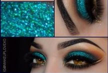 GLITTER Makeup / For the love of #glitter #makeup that has become an art form for the #MUA and the #Beauty Blogger