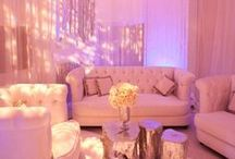 Wedding Lounge Splendor / The perfect #bridal  #wedding, requires the perfect #weddinglounge for your guests to relax and let go in preparation for your BIG day as #bride and groom. A #lounge full of #beauty and sophistication.
