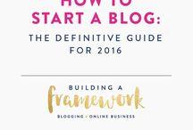Blogger / Helpful hints for blogging