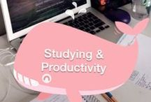 Studying & Productivity / Studying, Motivate, and Productivity