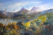 Original Tasmanian Art / much of this art is mine but there is also a selection of other original art fro my island home.
