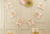 Candybuffet - Candybar / Hier findet ihr tolle Ideen und Produkte für euer Candybuffet auf einer Hochzeit oder Geburtstagsfeier.