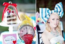 Inspirations - Alice in Wonderland theme
