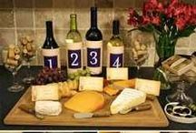 Inspirations - Wine & Cheese theme